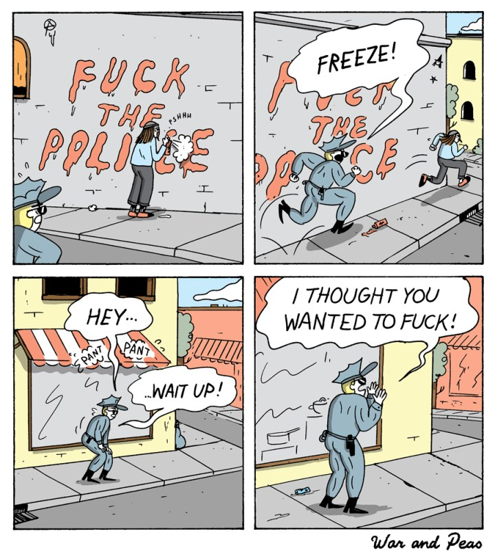 War and Peas - F*ck The Police - Elizabeth Pich and Jonathan Kunz
