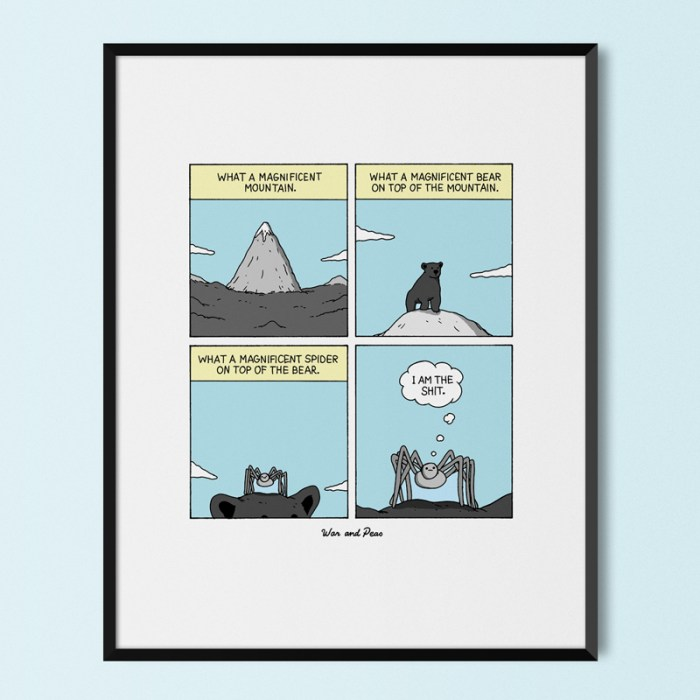 War and Peas - Magnificent Print