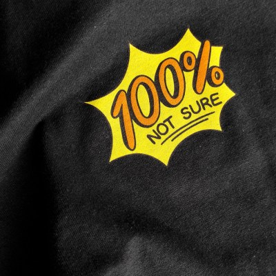 War and Peas - 100 % Not Sure - Shirt