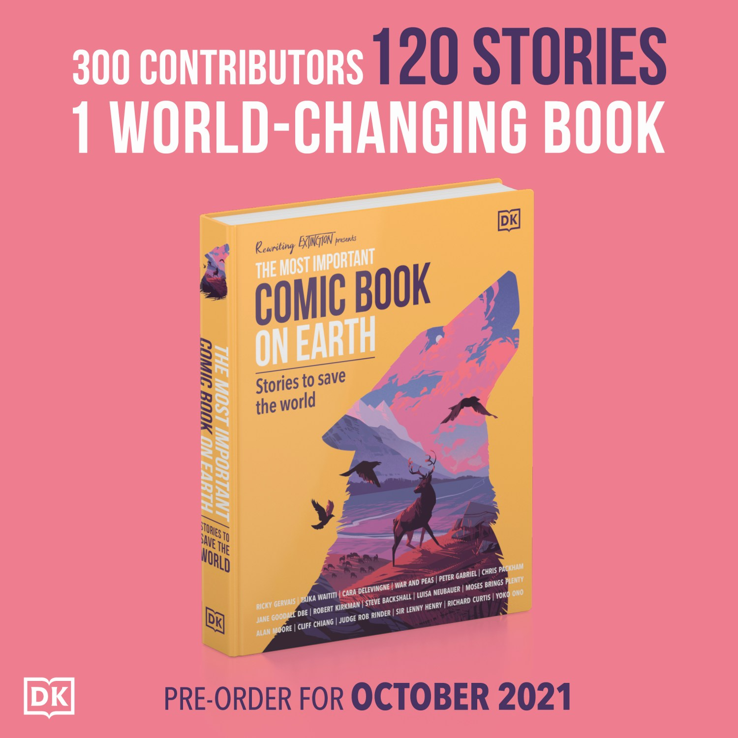 The Most Important Comic Book on Earth: Stories to Save the World