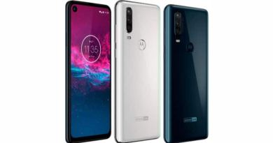 Motorola One Action with Exynos 9609, GoPro-like wide-angle camera launched