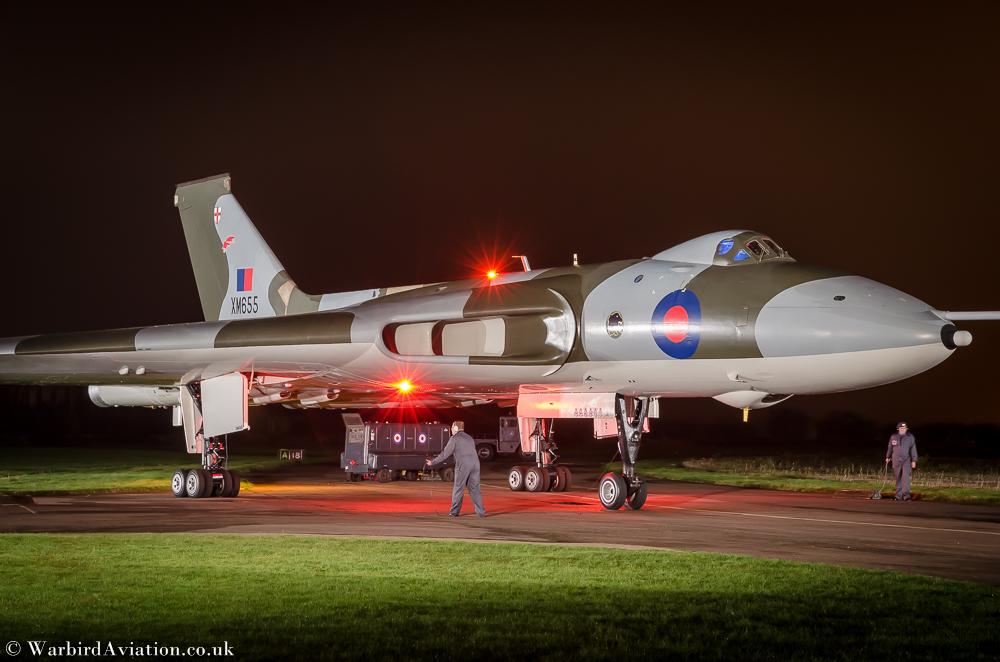 Avro Vulcan XM655
