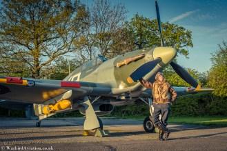 Pilot Reg Mchale