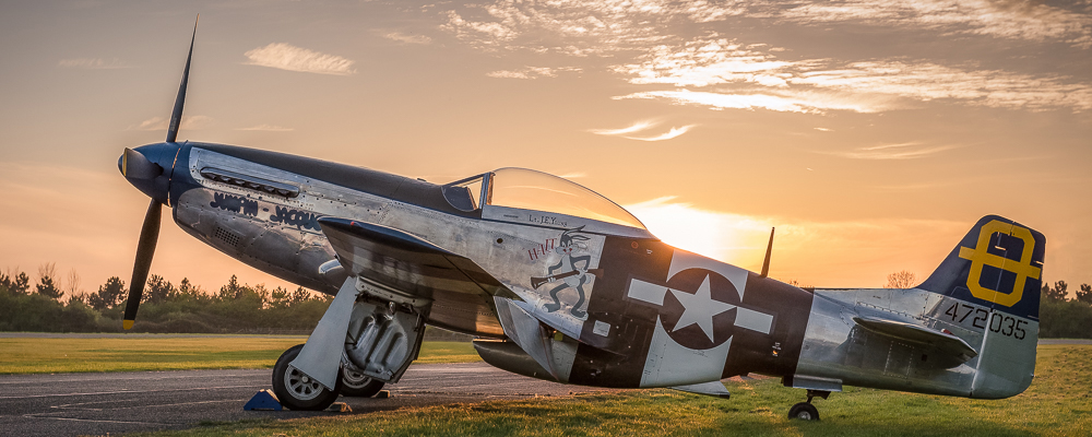 """Hanger 11 North American P-51D Mustang """"Jumpin Jacques"""""""