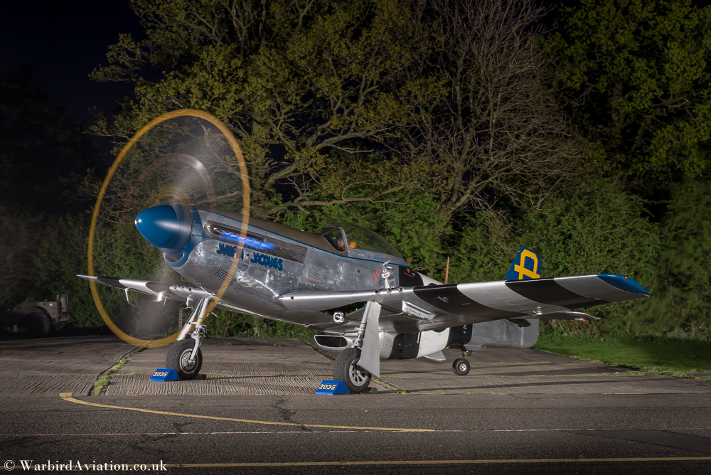 "North American P-51D Mustang ""Jumpin Jacques"""