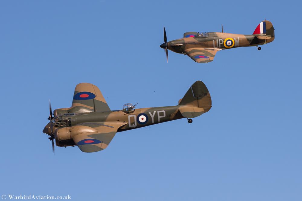 Bristol Blenheim Mk.I 1G-BPIV and