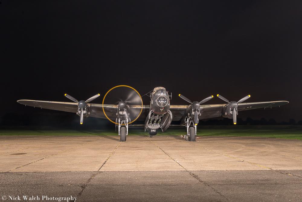 Lancaster Bomber NX611 Just Jane