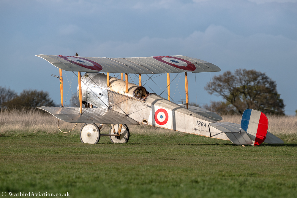 Bristol Scout 1264 at Stow Maries
