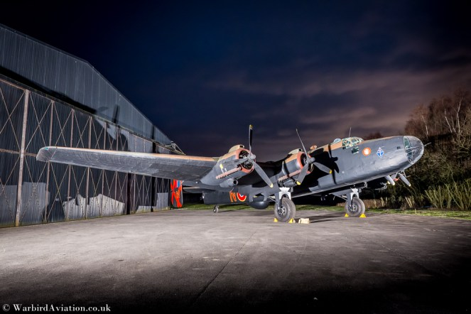 Handley Page Halifax II, HR792,