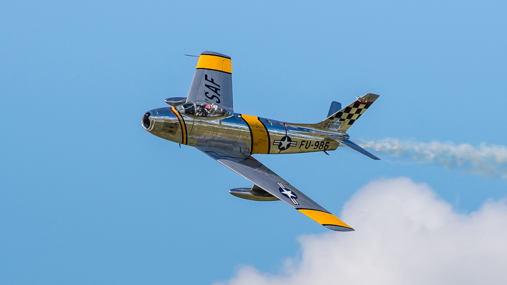 North American F86 Sabre FU-986