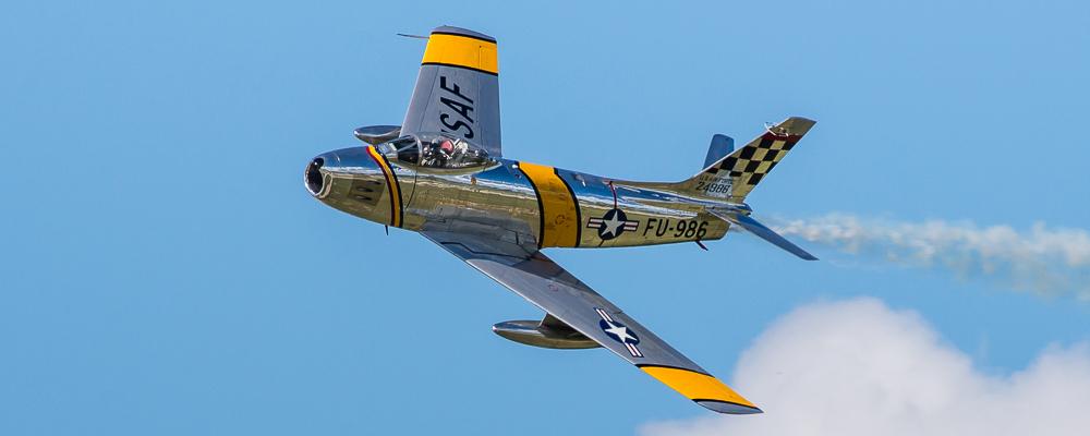 North American F86 Sabre FU-986