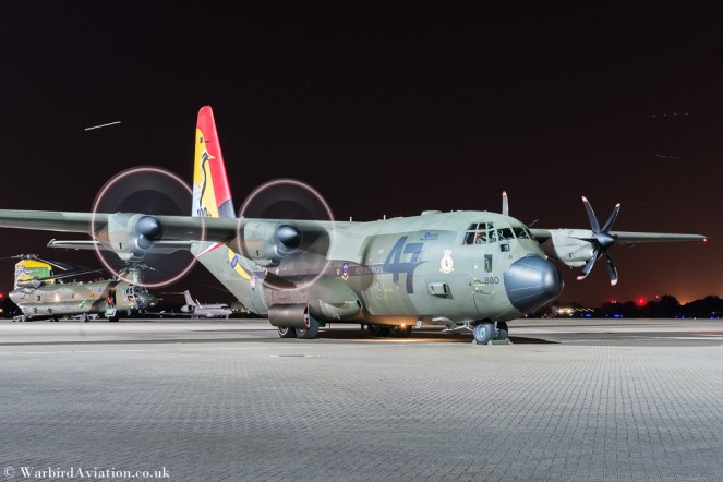 C130 Hercules ZH880 47 Sqn Special Tail