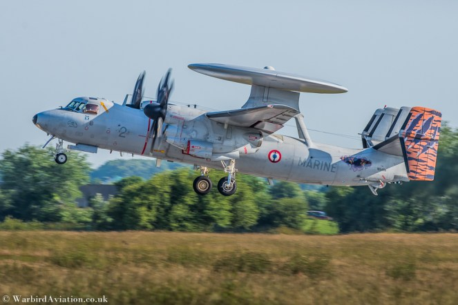 Flottille 4F french Marine Nationale Hawkeye