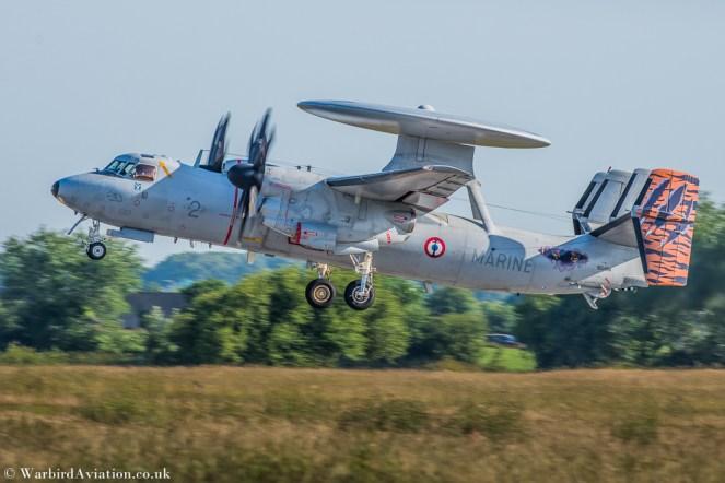 Flottille 4F french Marine Nationale Hawkeye