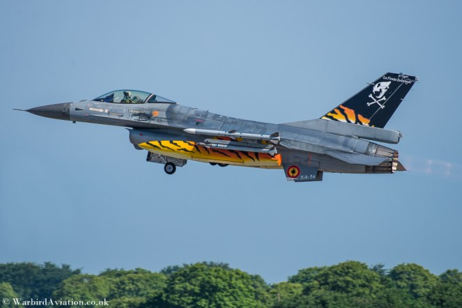 Belguim F-16 Fighting Falcon FA-94