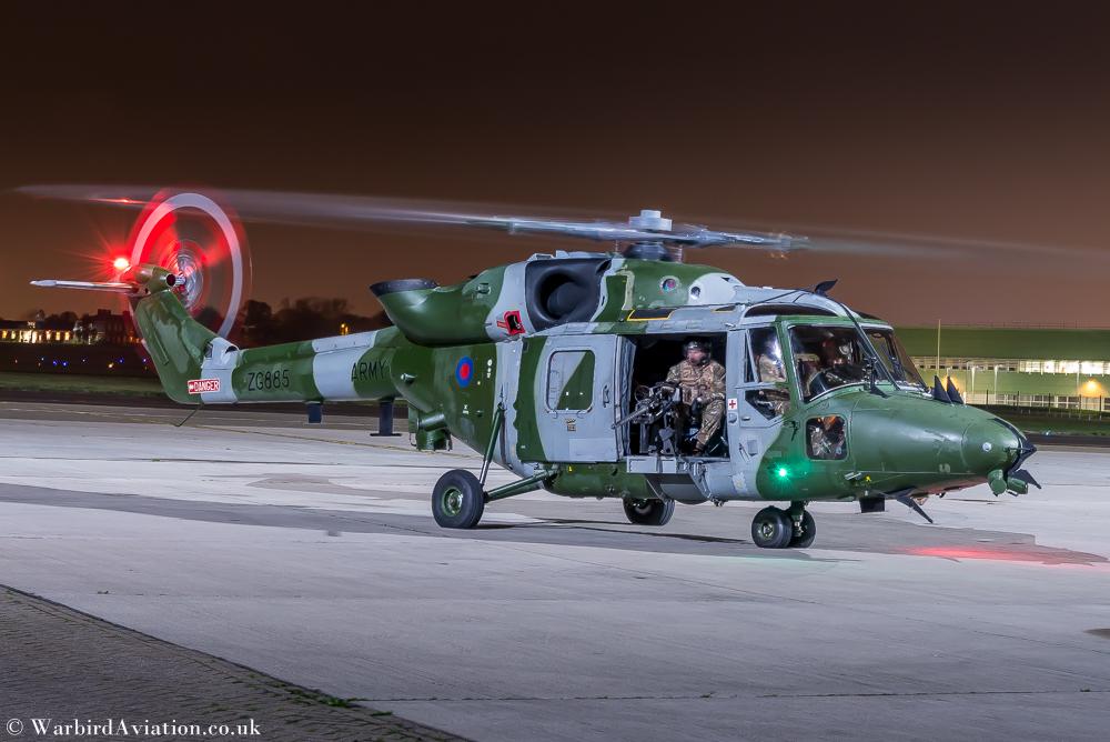 Westland Lynx AH9, ZG885