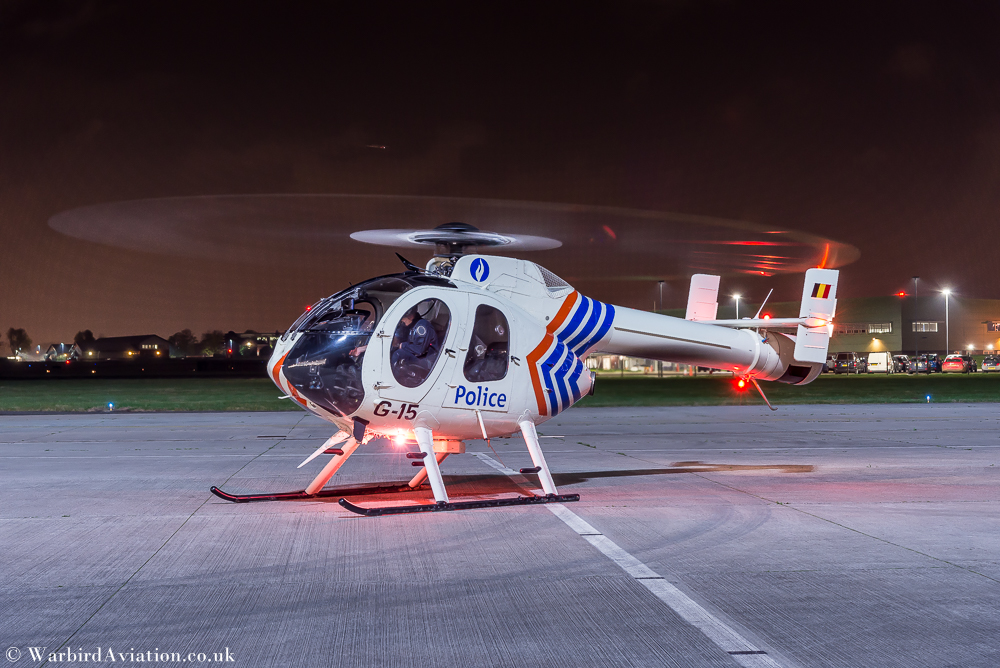 Belgian State Police Air Support Unit's MD520