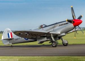 Spitfire SM845 at Duxford Battle of Britain 2017