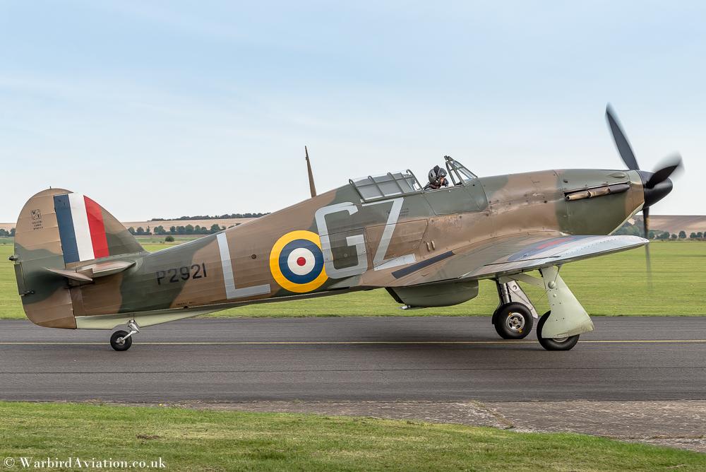Hawker Hurricane P2921