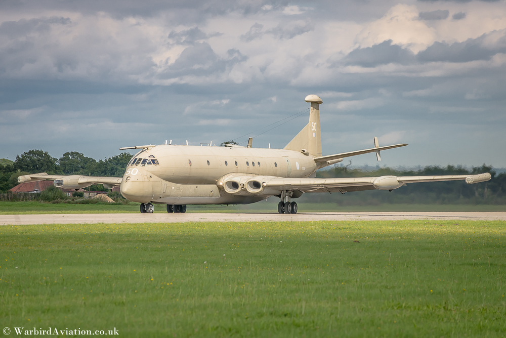 "Nimrod XV250 ""The Maid of Moray"" - Yorkshire Air Museum Rolling Thunder 2017"