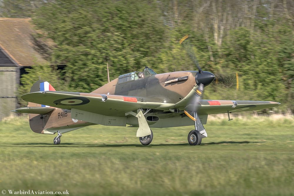 Hawker Hurricane Mk1 R4118