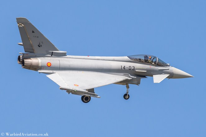 Spanish Air Force Eurofighter EF-2000 Typhoon 14-03