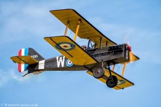 Royal Aircraft Factory SE5a replica B595 (G-BUOD)