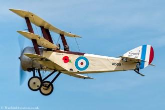 Sopwith Triplane replica - N500 (G-BWRA)