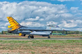 Belgium Air Force F-16 FA-116 31 Sqn Tigers Special Tail