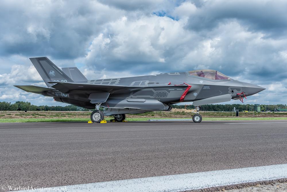 Italian Air Force F-35 Lightning II @Belgium Air Force Days 2018