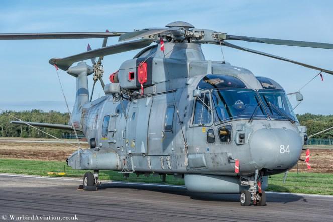 Royal Navy Agusta Westland EH-101 Merlin HM1 ZH861 (cn 50168/RN41) @ Belgium Air Force Days 2018
