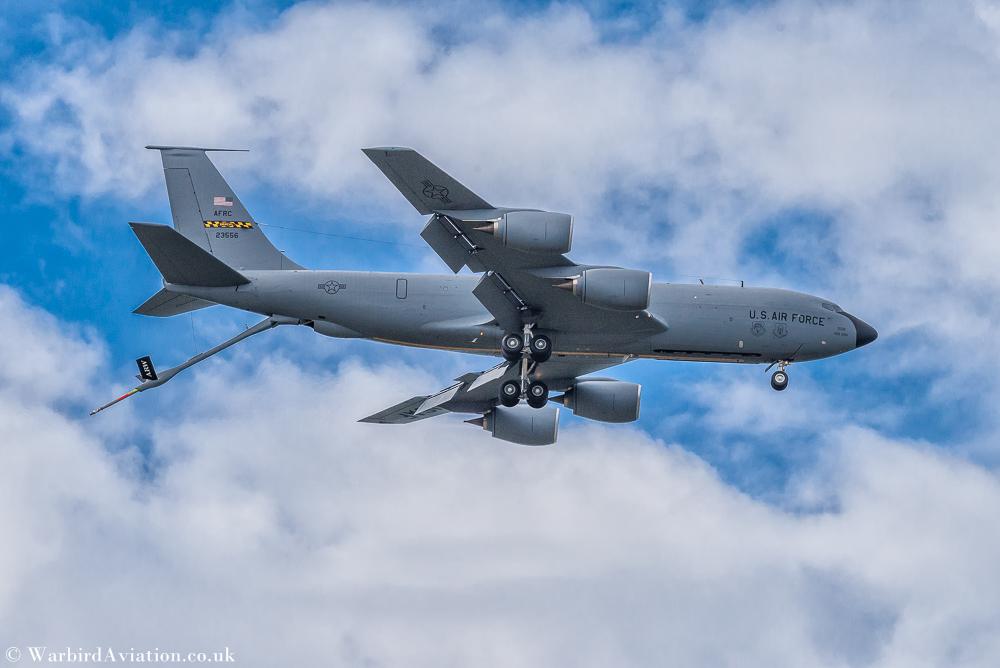 USAF KC-135 Stratotanker 459 ARW @ Belgium Air Force Days 2018