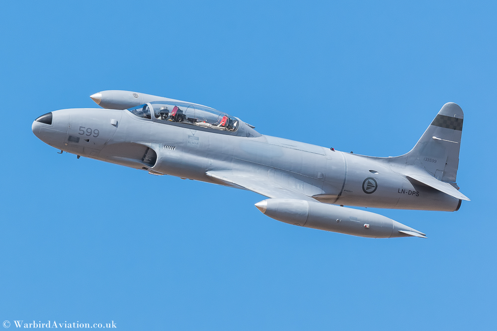 Canadair T-33 Silver Star LN-DPS 133599