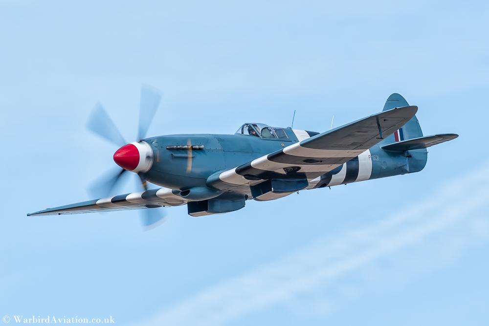 BBMF Spitfire PM631 Mk XIX Photo Reconnaissance