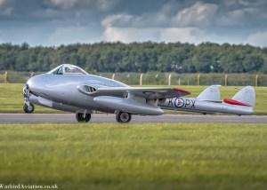 de Havilland Vampire FB.52 (SE-DXE)