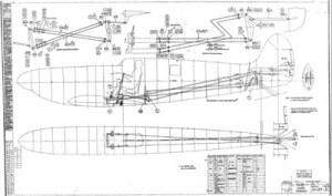 30033 Spitfire Flying Controls