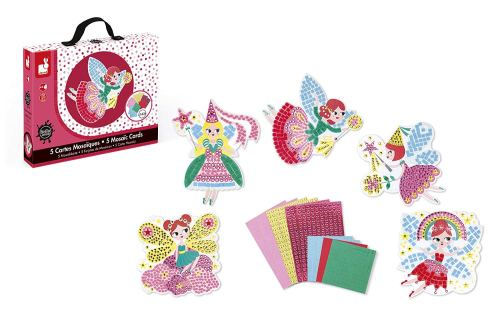 ''My Fairy Friends'' Mosaic Cards