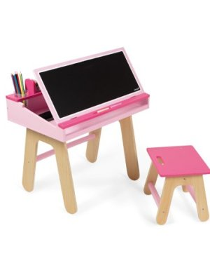 Pink School Desk