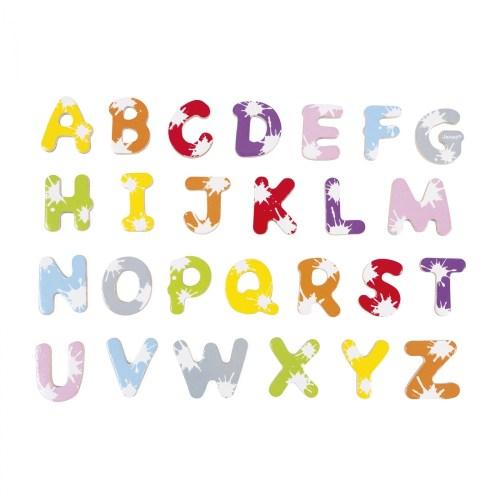 Set of 52 Splash Letters