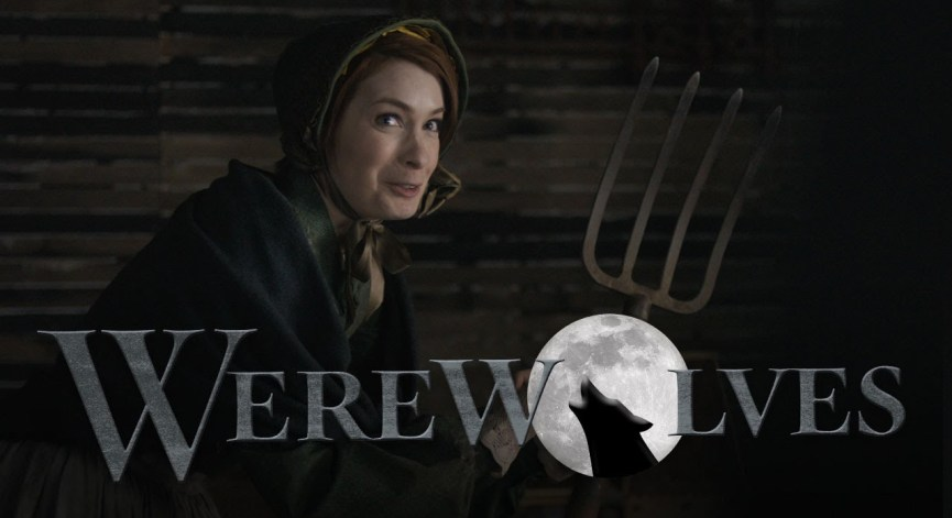 Random Video: WEREWOLVES Starring Kate Micucci, Felicia Day, and Jeff Lewis