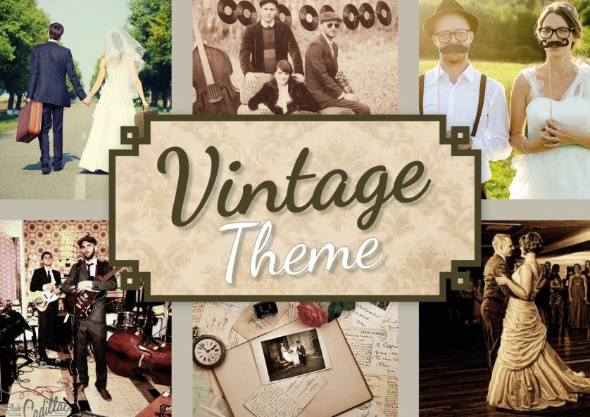 Entertainment And Music For A Vintage Theme Wedding