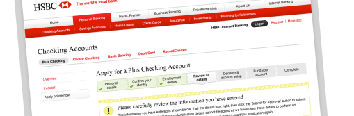 HSBC Personal Account Opening