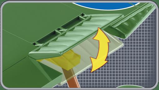 Cobi AVRO 504K Biplane Set flap detail