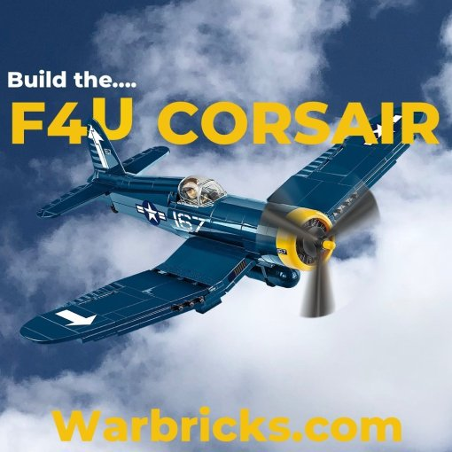 COBI F4U Corsair Set Warbricks