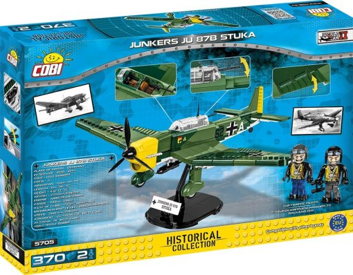 COBI Junkers JU87B Stuka Set Box detail