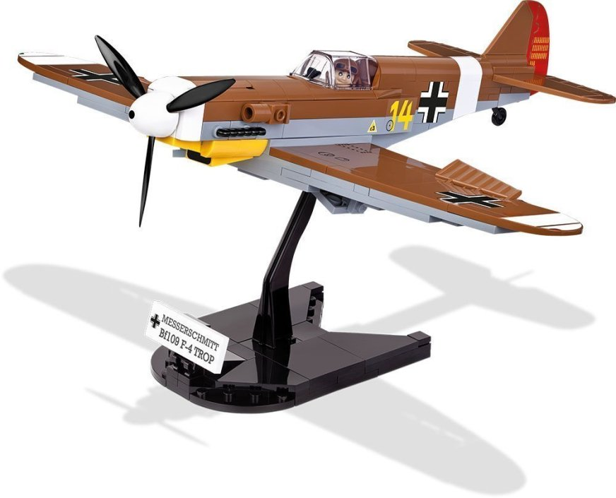 Cobi BF 109 F-4 Brick Set with stand