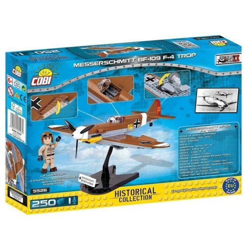 Cobi BF 109 F-4 TROP Set Box back