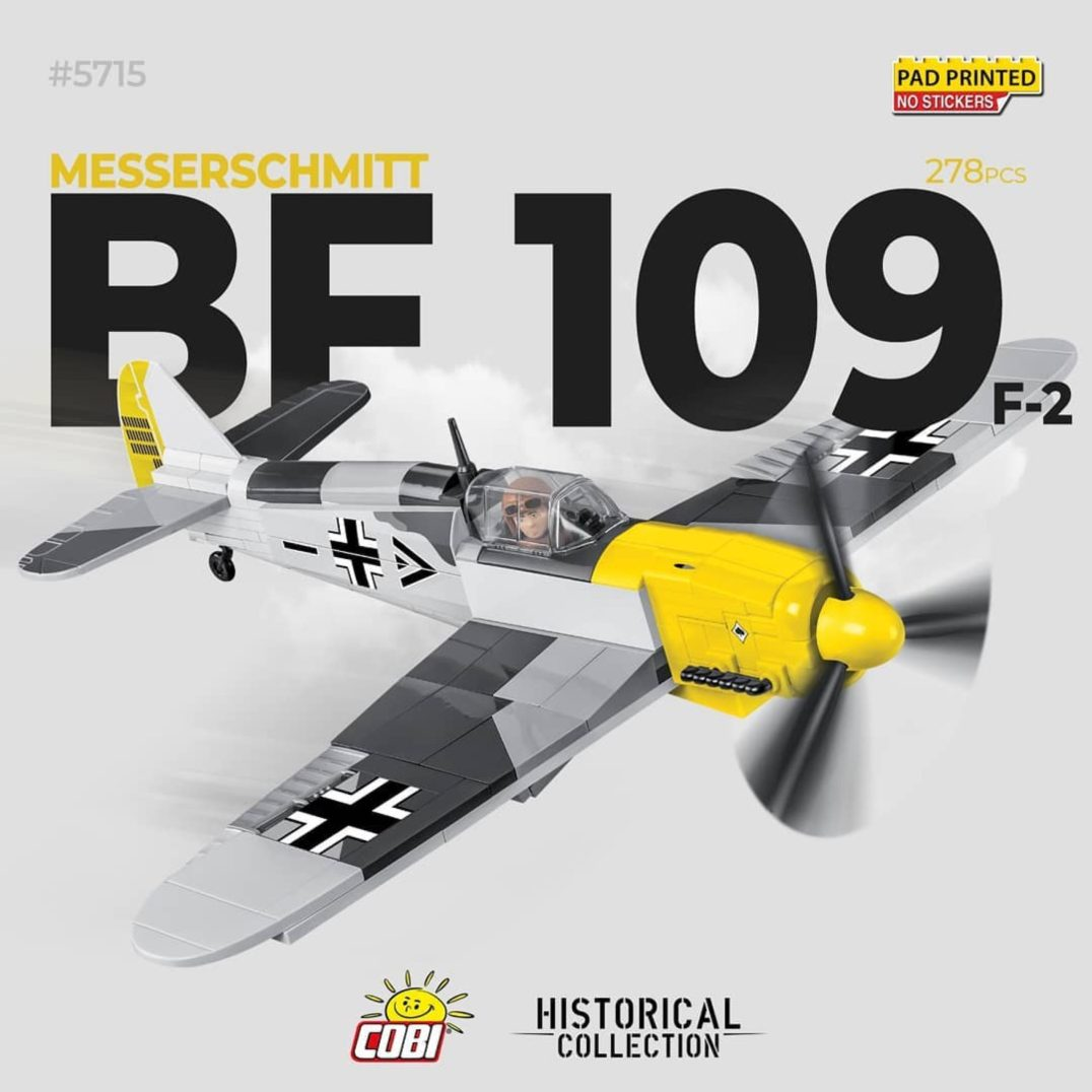 Cobi BF 109 F2 Brick Set