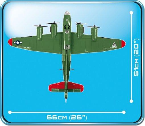 Cobi Boeing B-17G Set Demensions