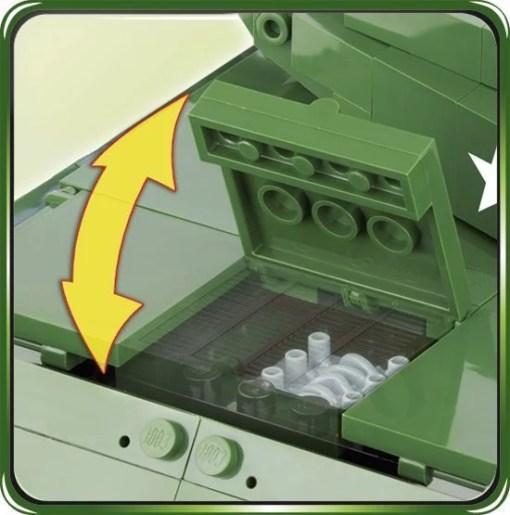 Cobi M-10 Wolverine Tank Set Motor